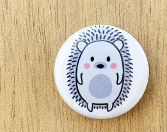 Hedgie the Hedgehog pin or magnet