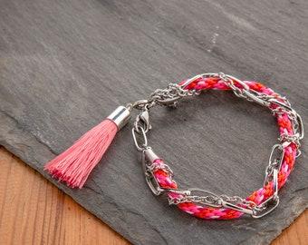 Woven Link Friendship Bracelet