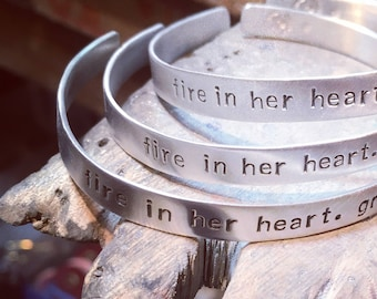 Personalized Quote Bracelet