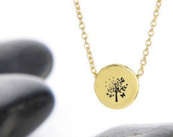 Circle of Seasons Charm Necklace