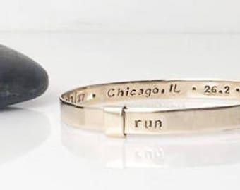 Personalized Running Bracelet