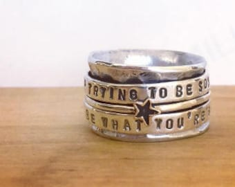Be You Spinner Ring