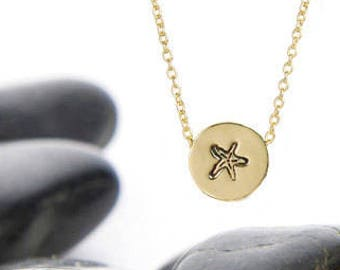 Starfish, Starfish Jewelry, Beach Wedding, Beach Necklace, Starfish Gifts, Beach Gift, Starfish Accessories, Beach Jewelry, Star Fish, n246s