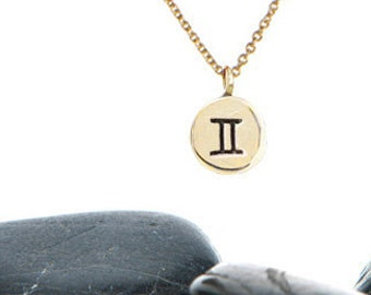 Tiny Zodiac Charm Necklace