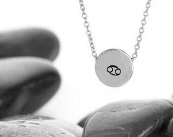 Zodiac Necklace, Cancer Jewelry, Zodiac Jewelry, Constellation, Zodiac Sign Necklace, Cancer, Birthday Gift, Necklace, Cancer Zodiac