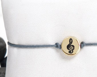 Music, Music Gifts, Music Lover Gift, Gift For Musician, Music Teacher Gift, Gift For Music Lover, Music Jewelry, Treble Clef Bracelet, 247B