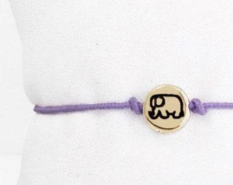 Elephant Jewelry, Elephant Charm, Charm Bracelet, Friendship Bracelet, Elephant, Wish Bracelet, Elephant Jewellery, Elephant Gift