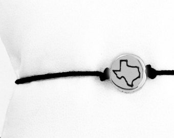 small Texas Friendship Bracelet