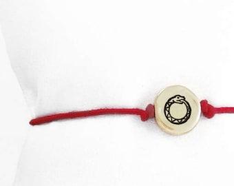 Ouroboros Charm Bracelet