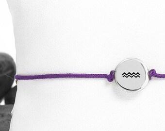 Aquarius Friendship Bracelet