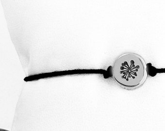 Small Dandelion Friendship Bracelet
