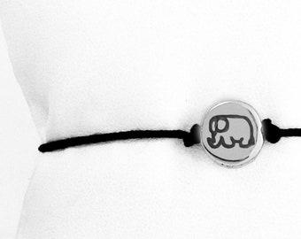Small Elephant friendship bracelet