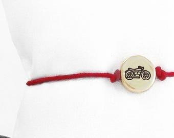 Motorcycle Bracelet, Motorcycle Jewelry, Motorcycle, Biker Bracelet, Biker Jewelry, Motorcycle Charm, Biker Chick, Sturgis