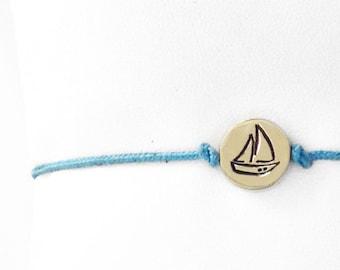 Sailboat Friendship Bracelet