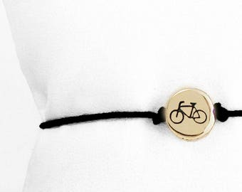 This is my Small Bicycle Friendship bracelet
