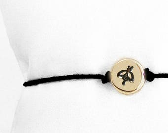 1/3 inch Bee Friendship Bracelet
