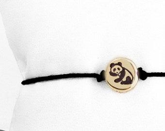 Panda Bear Friendship Bracelet