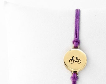 Bicycle 1/2 inch Friendship Bracelet