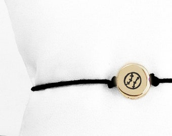 Small Softball friendship bracelet