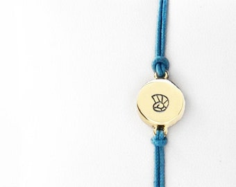 Nautilus Shell Friendship Bracelet