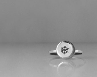 Snowflake Jewelry, Silver Snowflake, Winter Jewelry, Christmas Gift, Sterling Silver Ring, Winter Ring, Silver Ring, Snowflake, Frozen