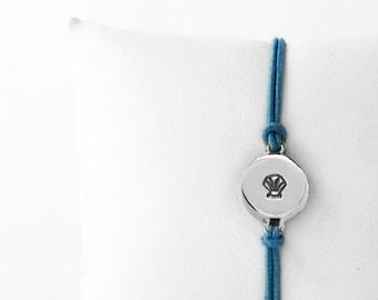 Scallop Shell Friendship Bracelet