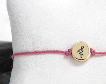 Flamingo Bracelet, Flamingo Charm, Charm Bracelet, Flamingo Gift, Flamingo Jewellery, Flamingo Jewelry, Pink Flamingo, Gift For Her