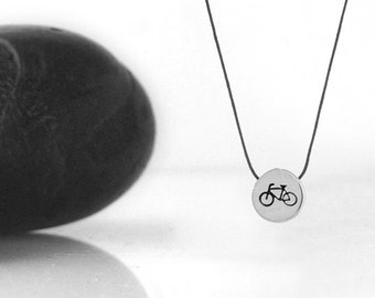 Bike Necklace, Bicycle Jewelry, Bicycle, Bicycle Charm, Bicycle Pendant, Bicycle Gift, Bike Jewelry, Sport Jewelry, Dainty Necklace