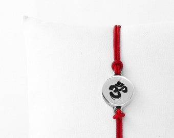 Yoga Bracelet, OM Bracelet, Yoga Jewelry, Om Charm, Gift For Her, Meditation Bracelet, Yoga Gift, OM Jewelry, Meditation, Ohm, Yoga