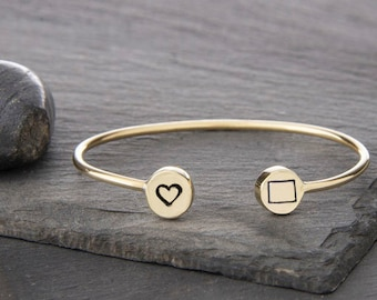 I love Colorado Cuff bracelet