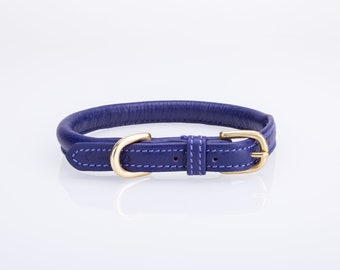 Pear Tannery Super Soft Rolled Leather Dog Collar