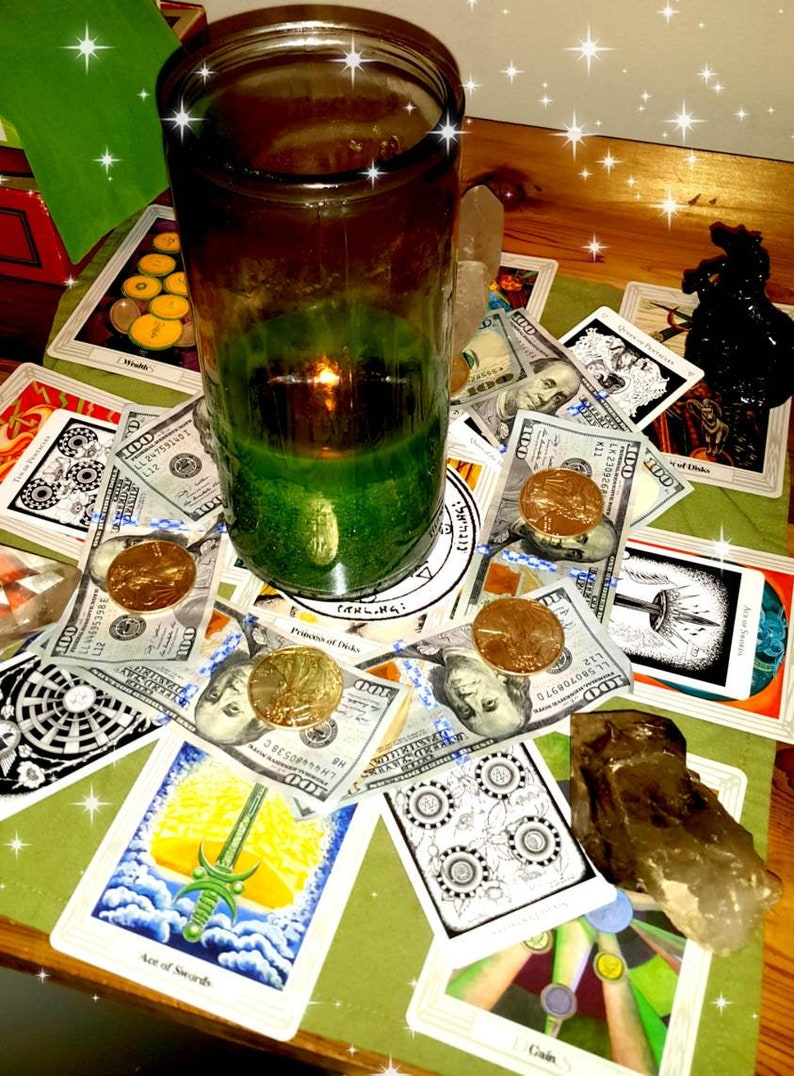 7th LEVEL CANDLE- prayer candle, ritual candle, wicca, hoodoo, santeria,  spell kit