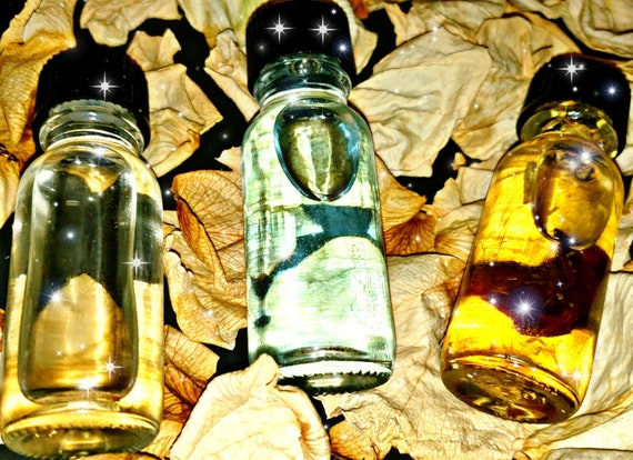 RETIRED OILS- last chance,organic almond oil, Wiccan Crystal oil, Pagan  Gift,Roses, Rose Petals, Hoodoo Ritual Oil,