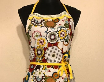 "Women's Full Apron ""April Showers...May Flowers"""