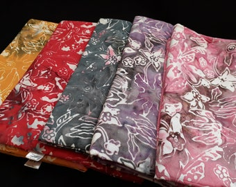Sarong, 1.70 x 1.15 m, premium quality, in 5 different colors