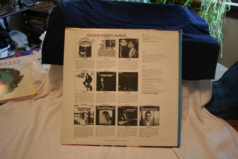 Charley Pride Christmas in My Home Town LP Record   Etsy