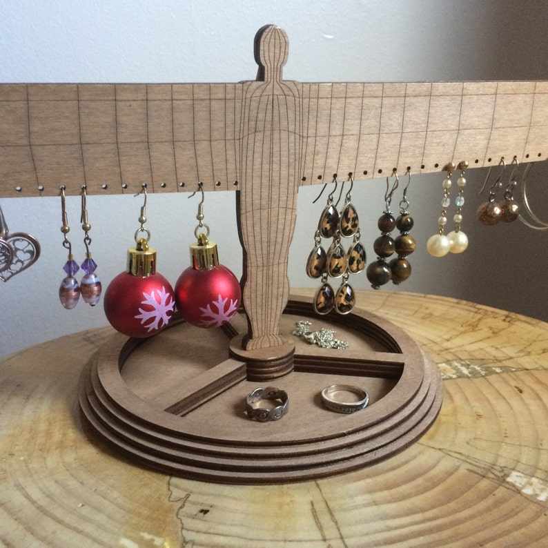Earrings holder-Angel of the North