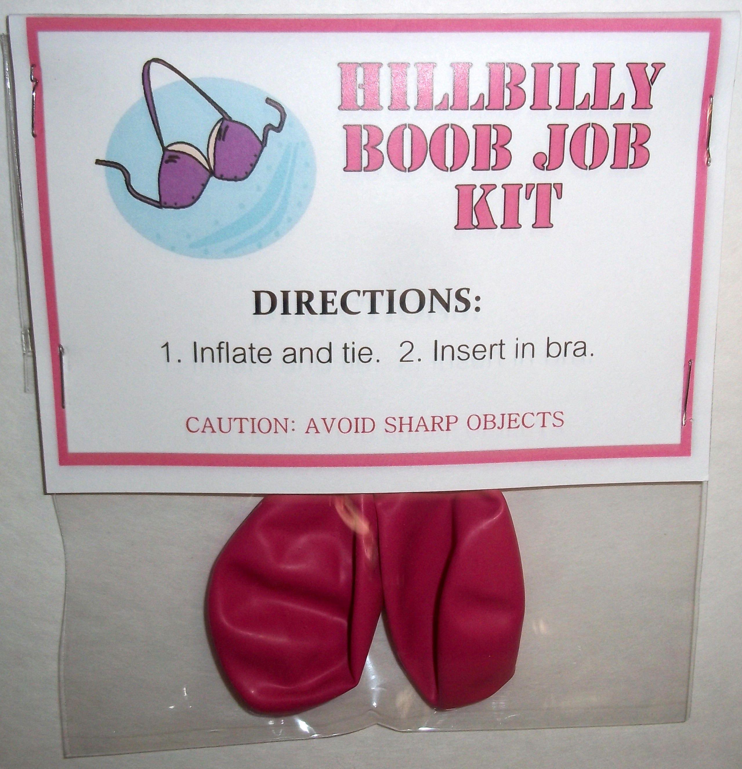 Knebel Stocking Stuffer Geschenke Hillbilly Boob Job | Etsy