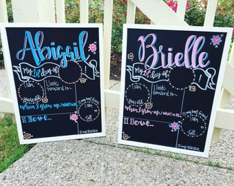 First Day of School Sign,  Chalkboard, First Day of Kindergarten, Personalized, Reusable, First Day of Preschool Sign, personalized