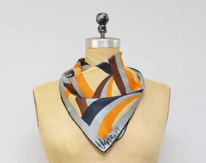 Vintage Abstract Print Vera Scarf