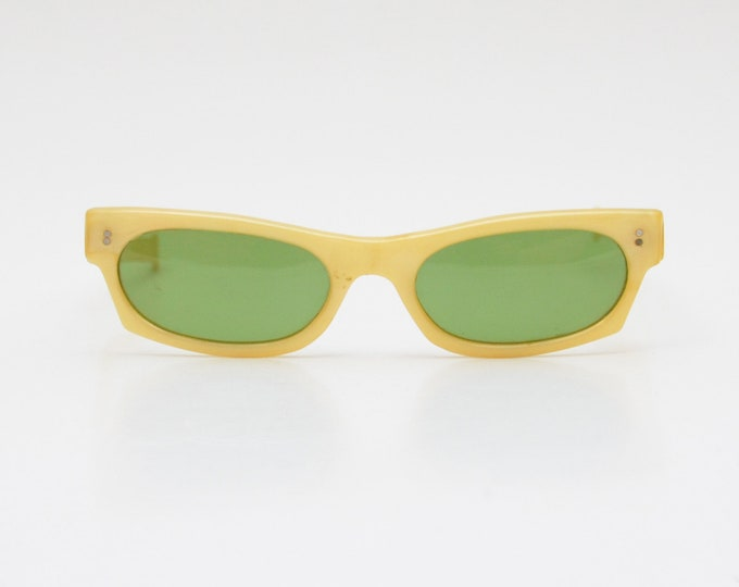 Vintage 1950s Yellow Sunglasses - Cool Ray by Polaroid