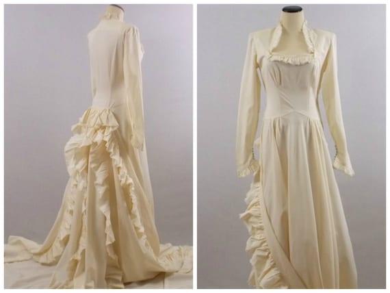Edwardian Wedding Dress 1900s Antique Wedding Gown Vintage | Etsy