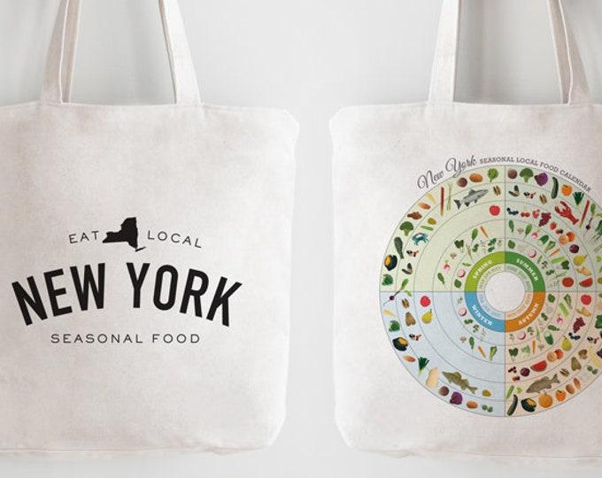 NEW YORK Local In-Season Food Bag
