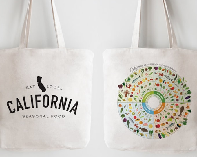 CALIFORNIA Local In-Season Food Bag