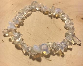 Elastic Opalite Gemstone Bracelet