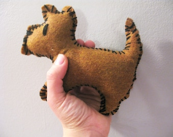 Terrier Plush Puppy Toys for Kids and Babies