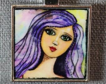 She Art Pendant - Jessica