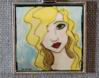 She Art Pendant - Chloe