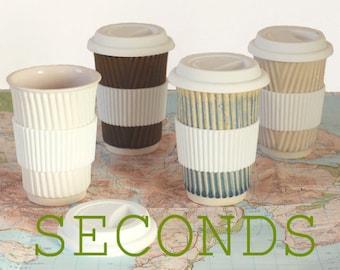 ceramic travel mug etsy