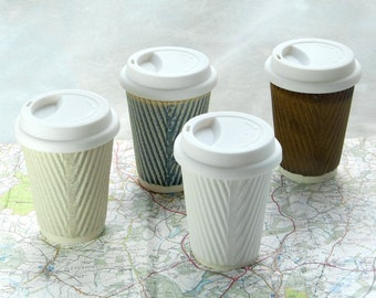 Ceramic Travel Mug Etsy